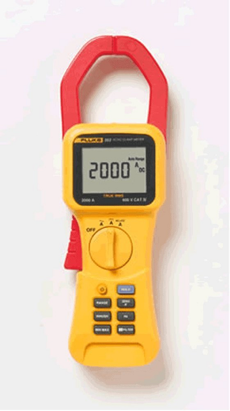 AC/DC TRMS CLAMP METER 2000A - IC-FLUKE-353