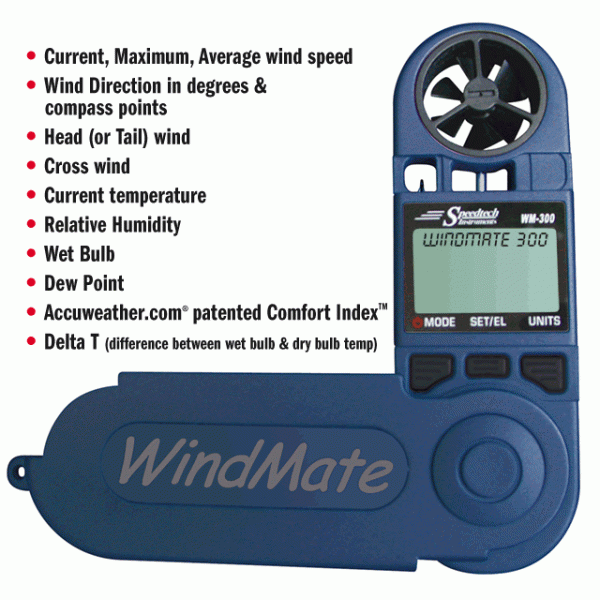 Windmate 300 Delta-T Spray Meter - WM-300