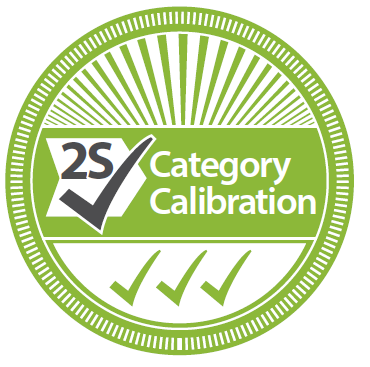Category-2S - 2 Point Standard NATA Traceable Calibration
