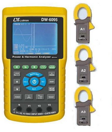 3 Phase & Harmonic Analyser with Transient Recording - DW6095