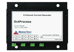 OctProcess - 8 Channel, Battery Powered, Low Level DC Current Data Logger