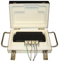 OctThermoVault - 8 Channel, Oven Temperature Data Logger with OctTemp and Thermocouple Probes
