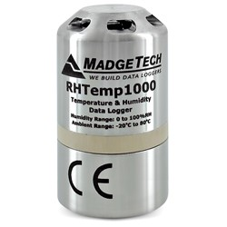 RHTemp1000 - Rugged, Aluminium Casing, Water Resistant, Stand-Alone, Humidity and Temperature Data Logger
