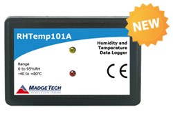 RHTemp101A - New, State-of-the-art Humidity and Temperature Data Logger