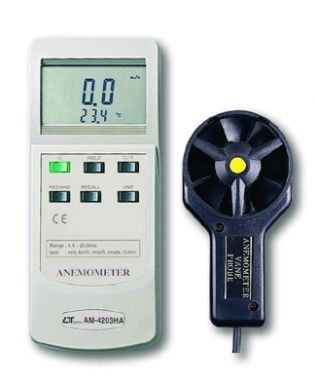 Digital Anemometer with LCD Display - AM-4203HA