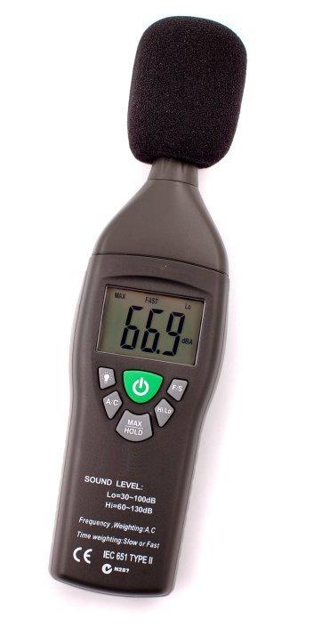 Sound Level Meter : Sound level meters accessories