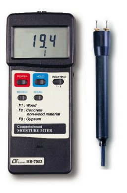 MS7002 - Concrete and Wood Moisture Meter