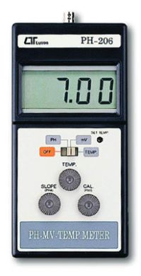 Digital Millivolt Meter : Ph digital mv temp meter electrode optional