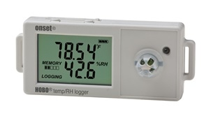 HOBO UX100 Temp/RH 2.5% Data Logger (With Free USB Cable) - UX100-011