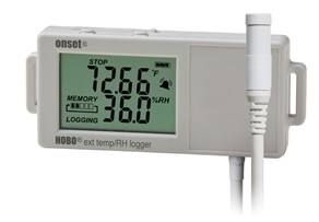 HOBO UX100 External Temp/RH Data Logger (with Free USB cable) - UX100-023