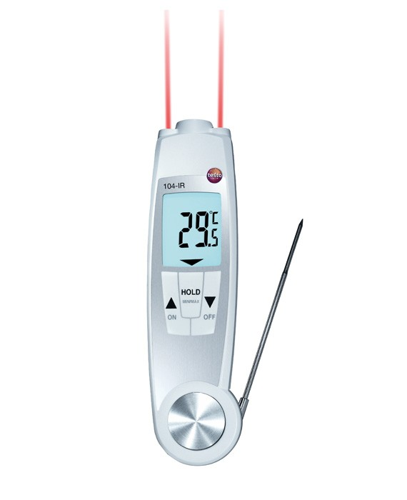 Waterproof Infrared & Probe Thermometer - IC-0560-1040