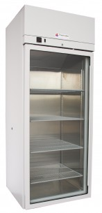 Laboratory Refrigerator. (520 Litre) Digital Temperature Display. Fan Forced. Glass Door. - TLR-520-1-GD