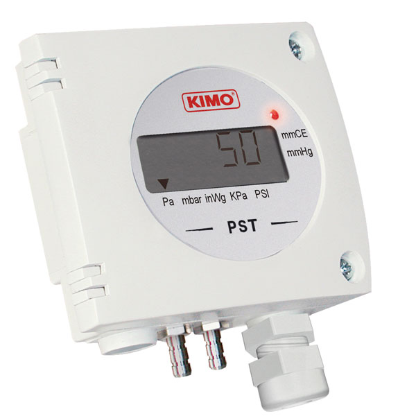 PST-1 - Pressostats-Manostat, -500 - 1000 Pa to -1000 - 2000 mbar, Relay output