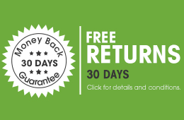 30 days free returns