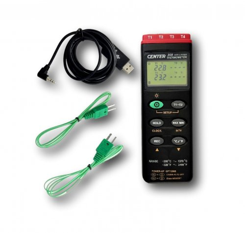 4 Channel Temperature Logger and Display - C309