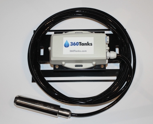 360Tanks Falcon Tank Monitoring System. With Submersible Tank Level Sensor - IC-360Tanks Falcon