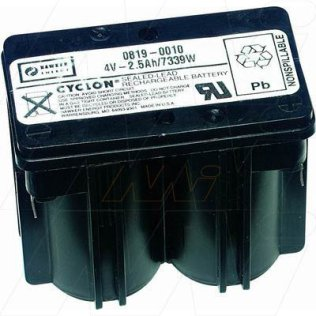 0819-0010 - Sealed Lead Tin BatteryCyclon Monobloc