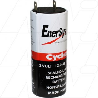 0840-0004 - 0840-0004 Sealed Lead Tin Battery Cyclon Cell