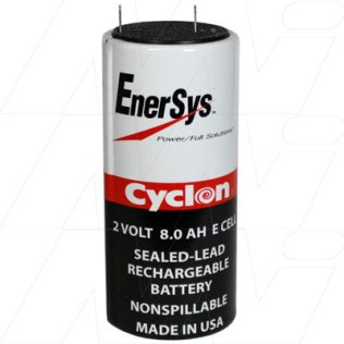0850-0004 - Sealed Lead Tin BatteryCyclon Cell