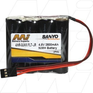 4/HR-3UWX FLT-JR - R/C Hobby Battery Pack