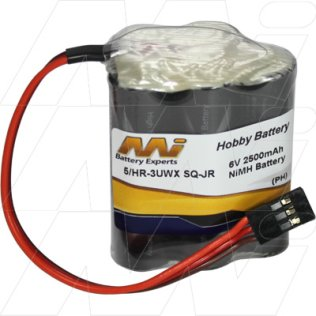 5/HR-3UWX SQ-JR - R/C Hobby Battery Pack