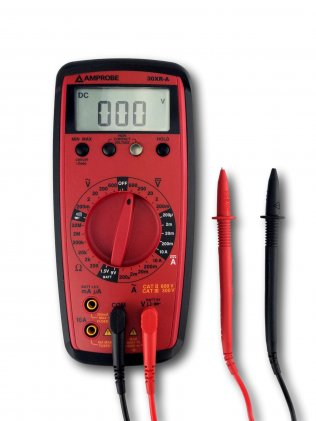 Amprobe 30XR-A Auto Ranging Digital Multimeter with VolTect Non-Contact Voltage Detection