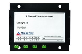Eight Channel, Low Level Dc Voltage Data Logger, 0 - 15V