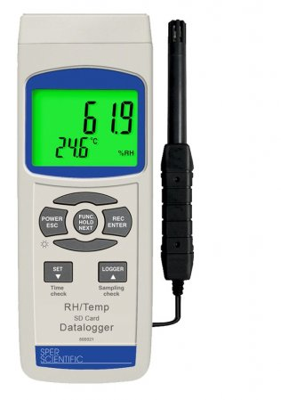 Humidity/Temperature Meter Logger, SD Card - IC800021