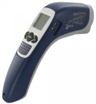 Infrared Thermometer with Laser and LED Backlight (Not suitable for human use) - TN410LCE
