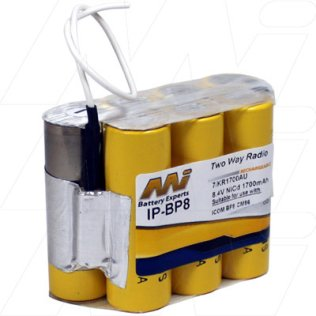 IP-BP8 - Insert Battery Pack for Two Way Radio