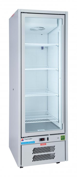 Lab. Refrigerator, (440 Litre). Glass Lockable Door