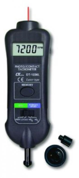 Laser Photo-Contact Tachometer - DT1236L