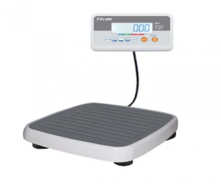 M303 300 kg x 100 g Stand-On Medical Scale with Remote Display