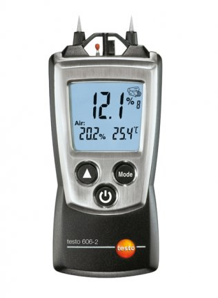 Moisture Meter For Wood & Building Materials With thermometer