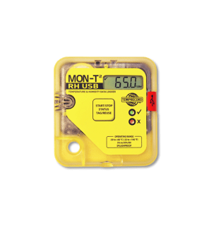 Mon-T2 RH USB Temperature logger with LCD Display, 16k