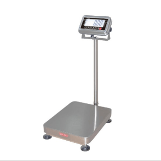 NSW 150kg x 20/50g Dual Range Trade-Approved Industrial Platform Scale with IP65 Protection - IC-NSW-TA-150