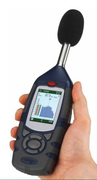 Precision Integrating Digital Sound Level Meter (Class 1)