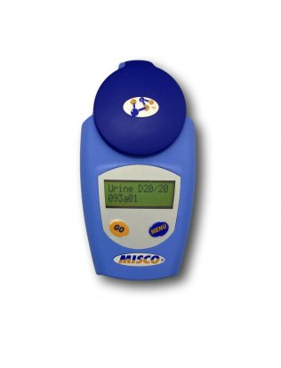 Refractometer - Human Urine Scale - Urine Specific Gravity - MISCO Digital Refractometer