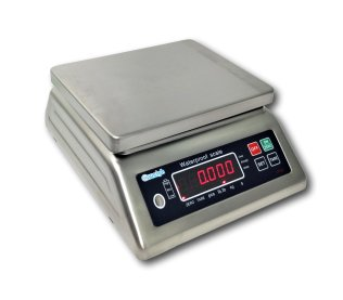 SS-IP68-6 - 6kg Water Proof IP68 Stainless Steel Table Scale