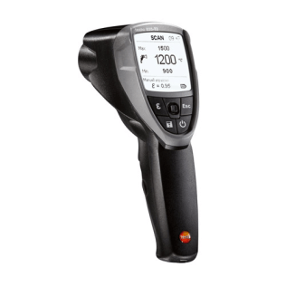 testo 835T2 High Temperature IR Thermometer (Not suitable for human use) - 0560-8352