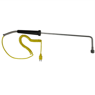 Thermocouple Hand Probe Surface Type K 3 Ribbon Tip