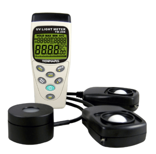 TM-208 Solar, UVA and Light Meter