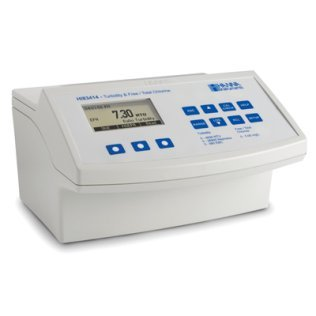 Turbidity And Free, Total Chlorine Benchtop Meter