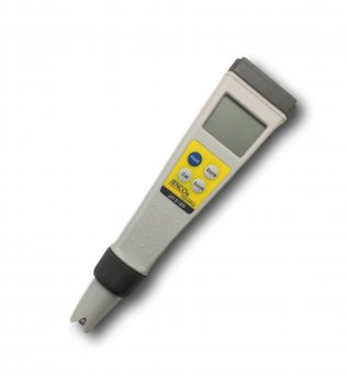 618N - Jenco VisionPlus IP67 pH meter with temperature and data hold