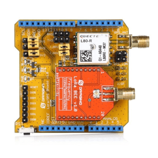 LoRa and GPS Shield for Arduino - Long Range Transceiver