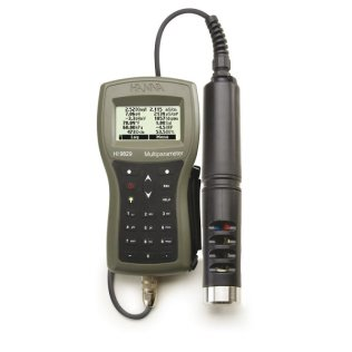 Multiparameter meter in case, independent probe pH, EC, DO, C, 4 m cable (Non- GPS, no turbidity) - HI 9829-02042
