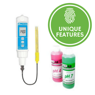 Soil pH Meter with Separate Electrode - PH220S