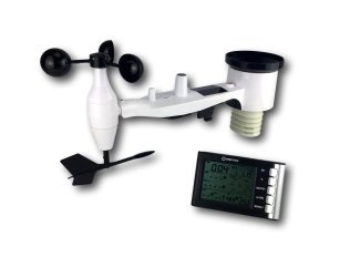 Weather Station With Rain Gauge, Wind Speed And Direction - IC0400WS
