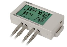 4-Channel Analogue Data Logger (With Free Usb Cable)