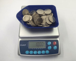 CS-4 4kg x 0.5 g Coin Counting Scale - IC-CS-4 Coin